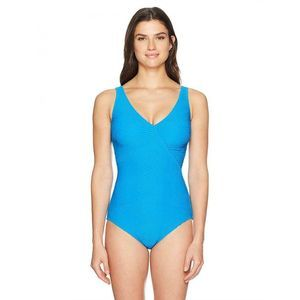 Gottex Extra Coverage Textured 1 Piece Swimsuit 8